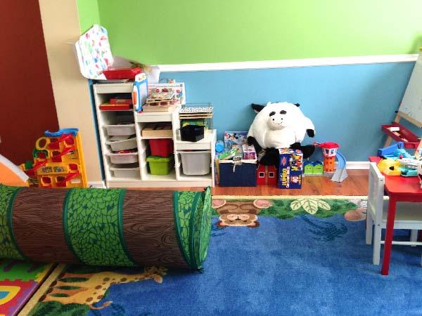 playroom before